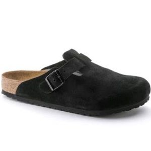 Birkenstock Betula Germany Black Boston Sandals
